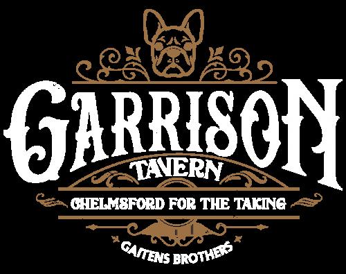Garrison Logo 2020 White Textured